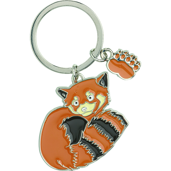 Schlüsselanhänger: Roter Panda