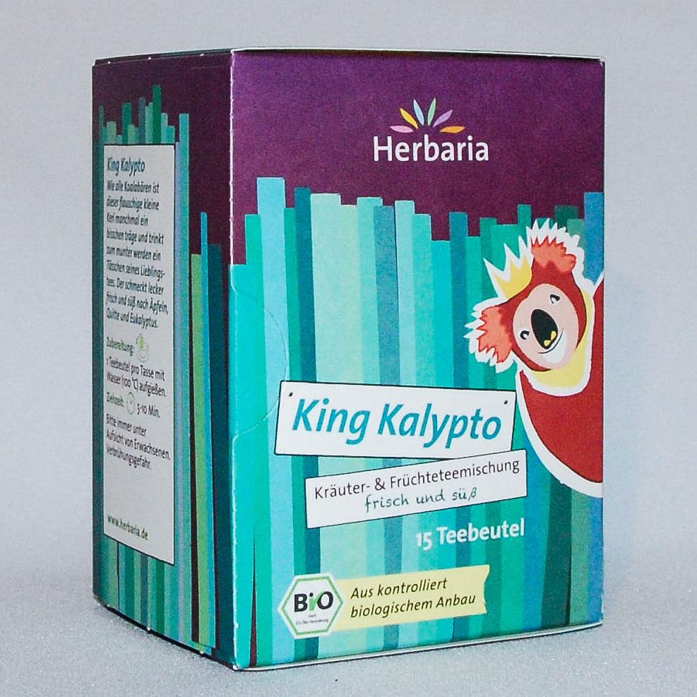 """Tee """"King Kalypto"""" - frisch und süß"""