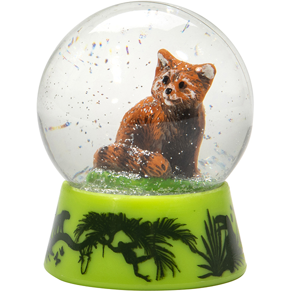 Kleine Schneekugel: Roter Panda