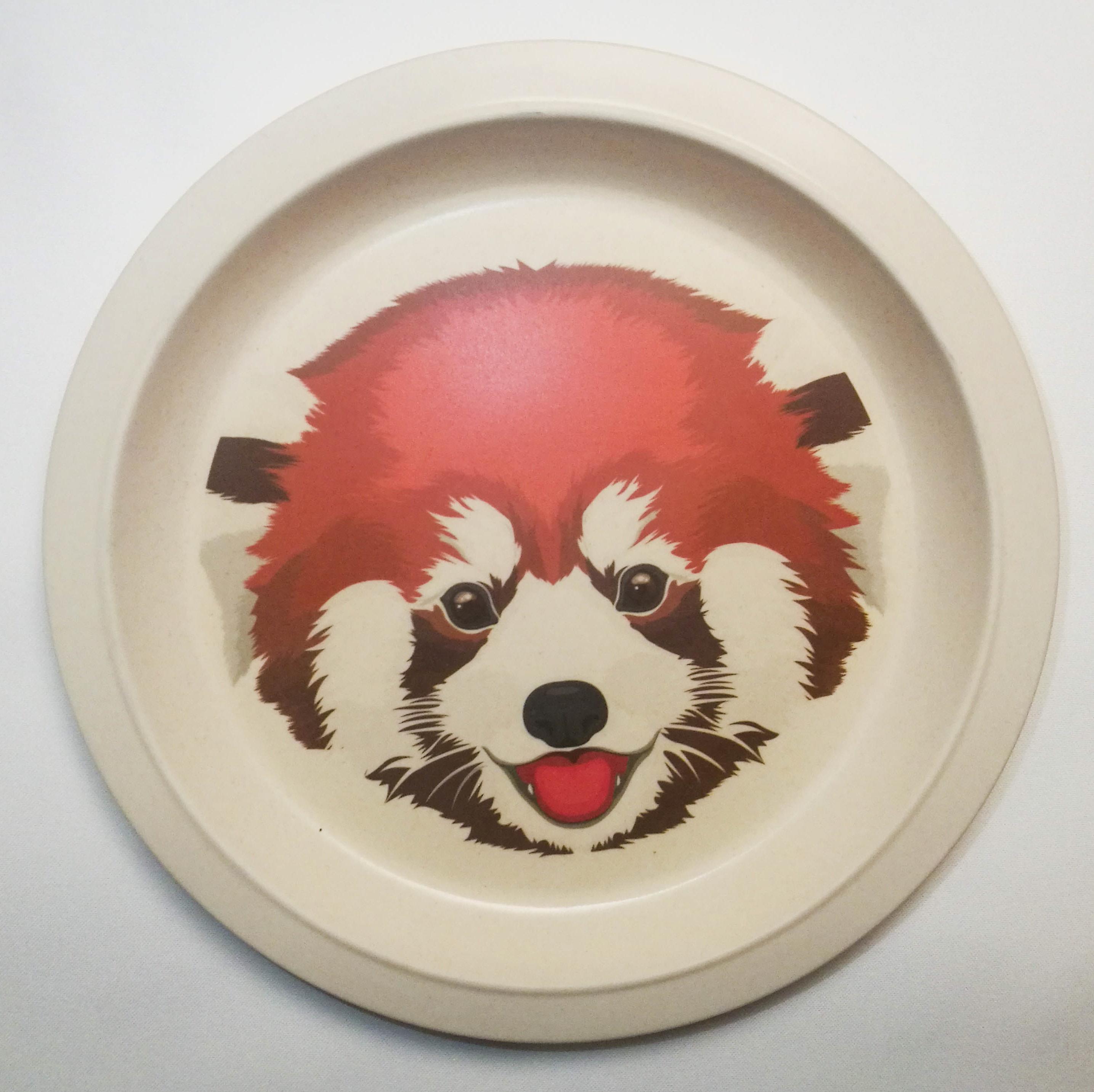 Teller Roter Panda