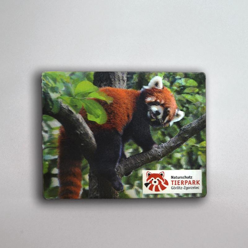 3D Magnet Roter Panda
