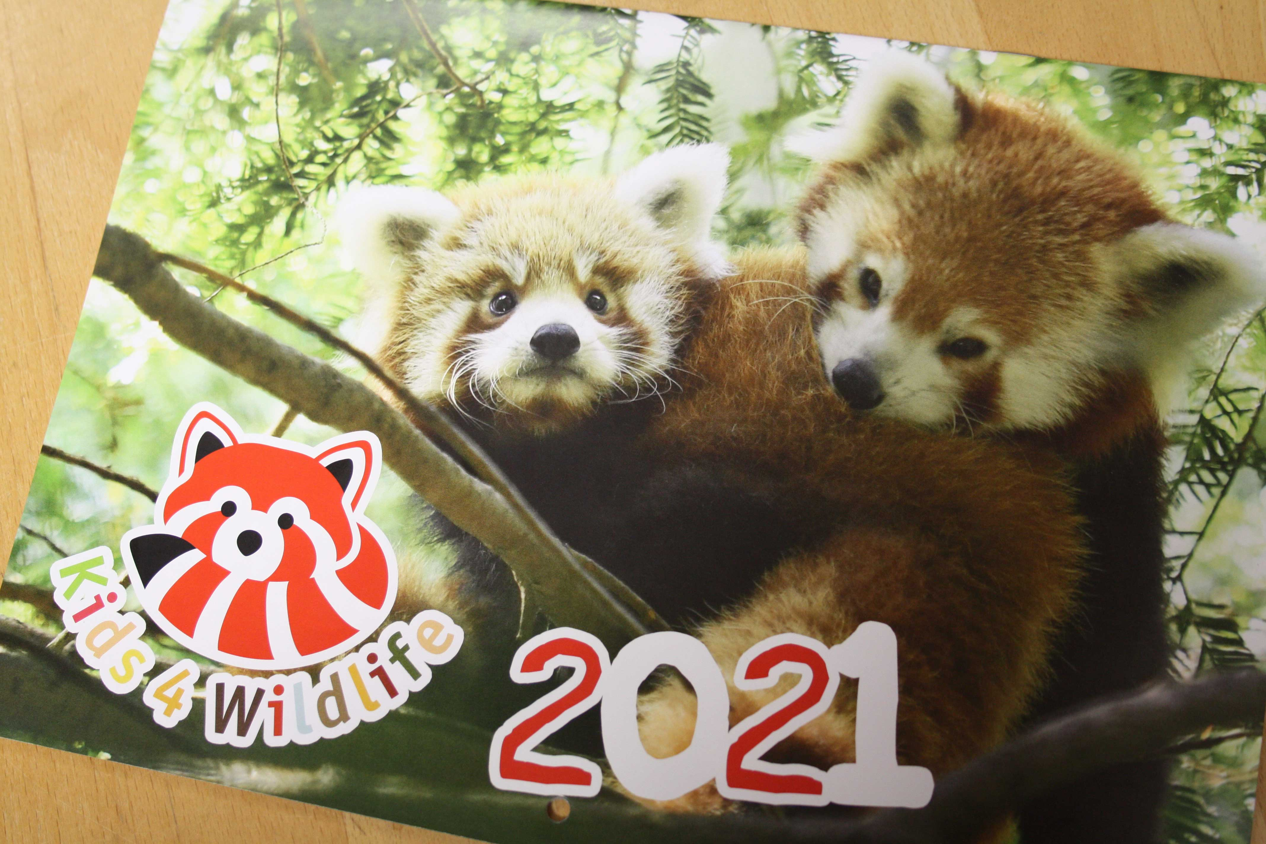 Kids4Wildlife Kalender 2021