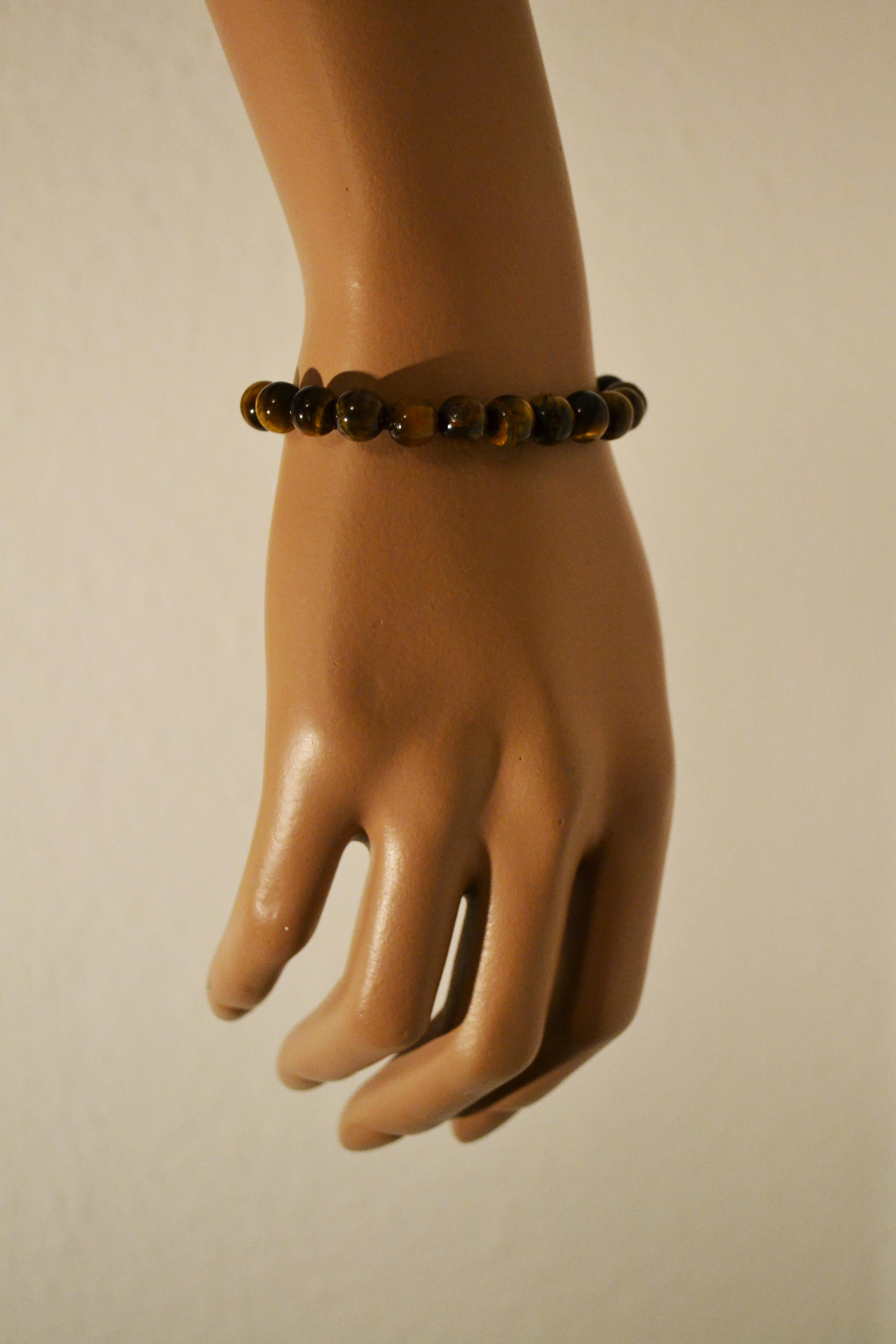 Power Armband braun marmoriert