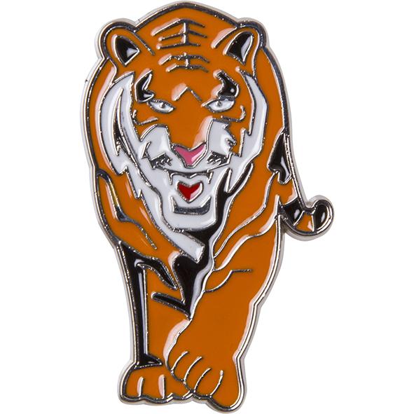 Magnet aus Metall: Tiger