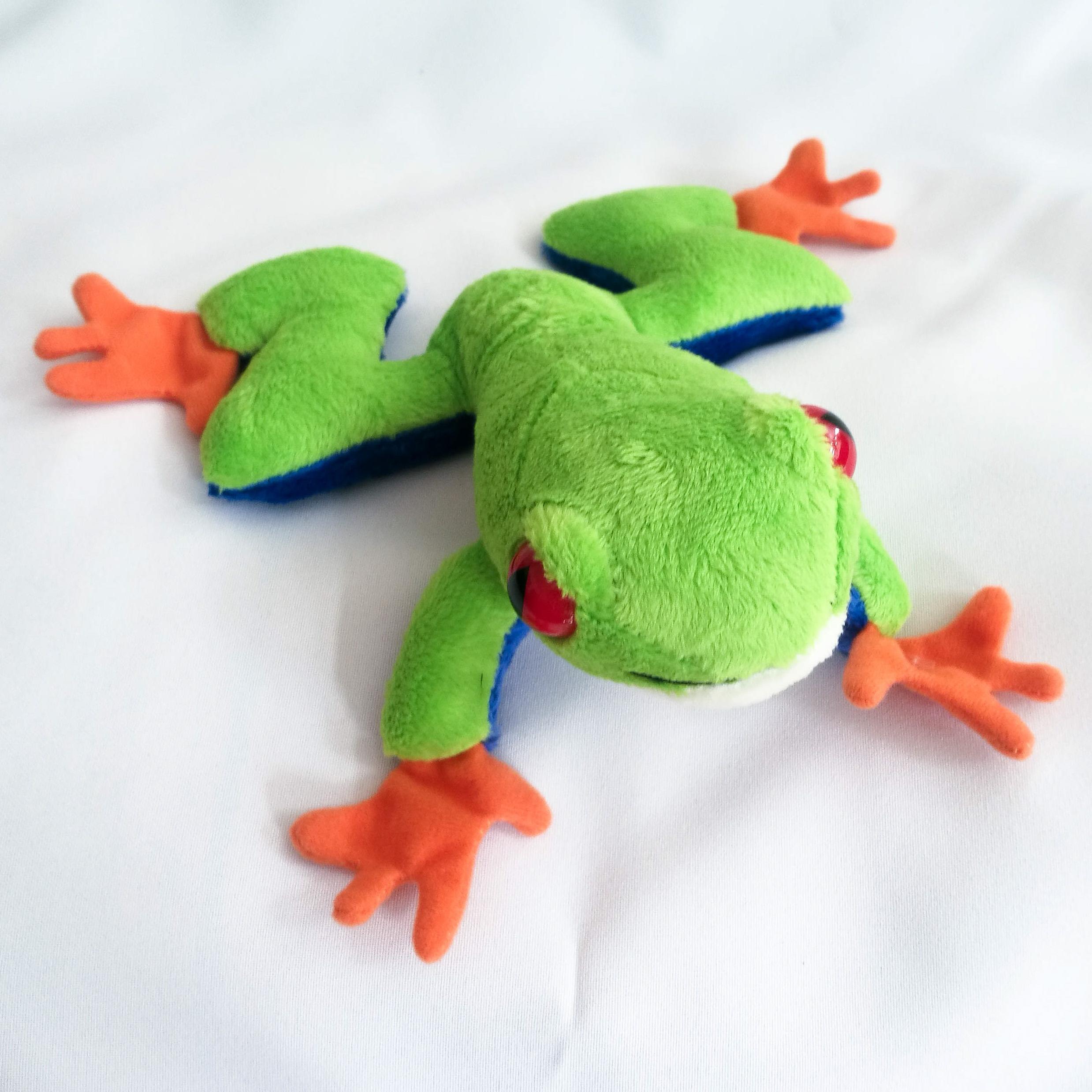 Plüschtier Frosch