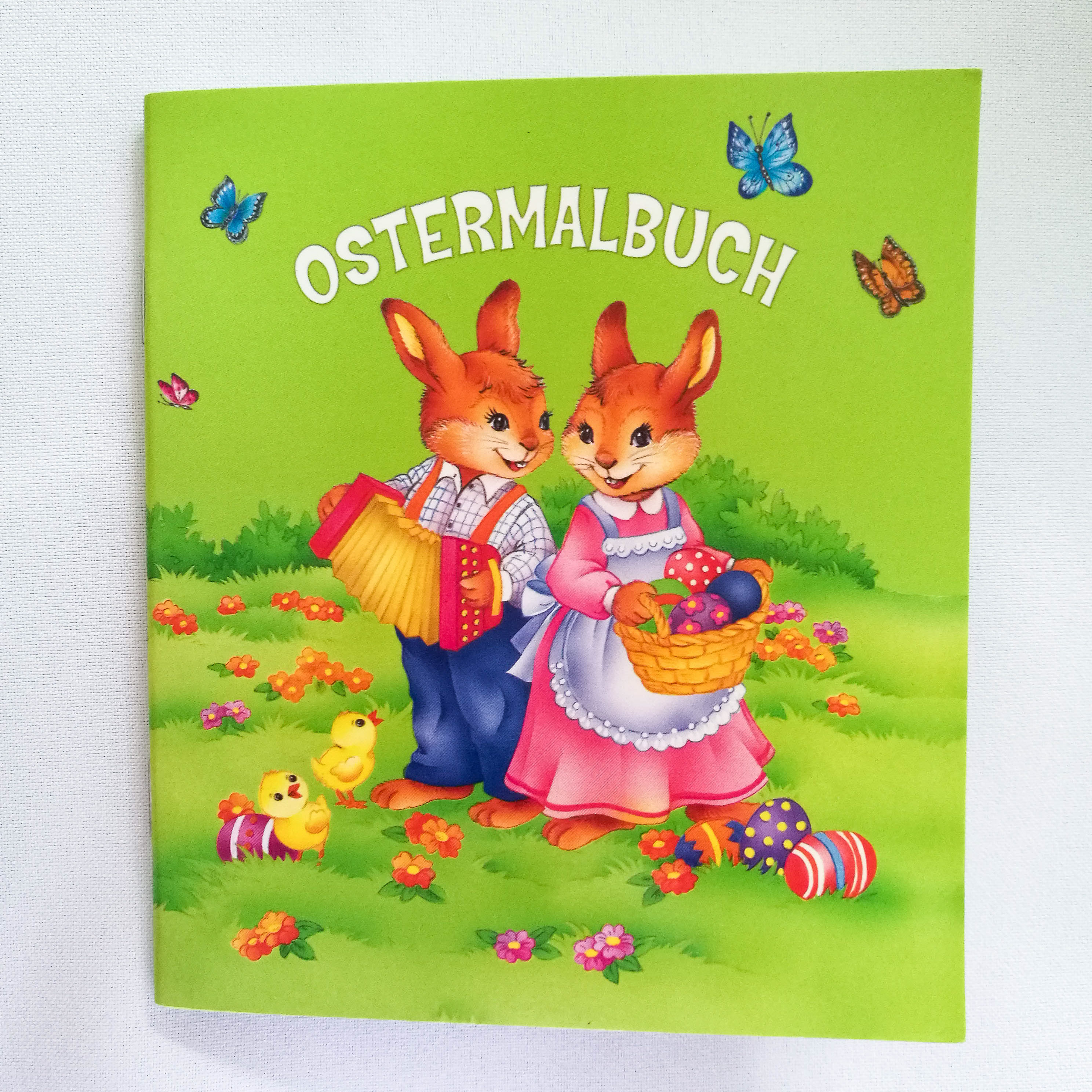 Ostermini-Malbuch