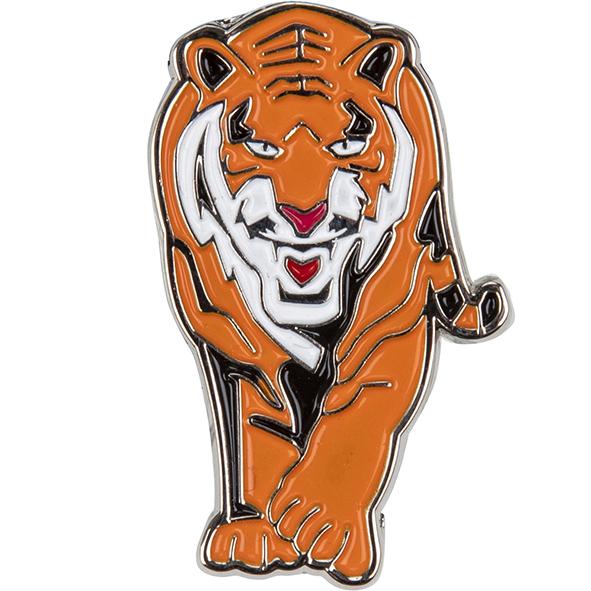 Anstecknadel: Tiger
