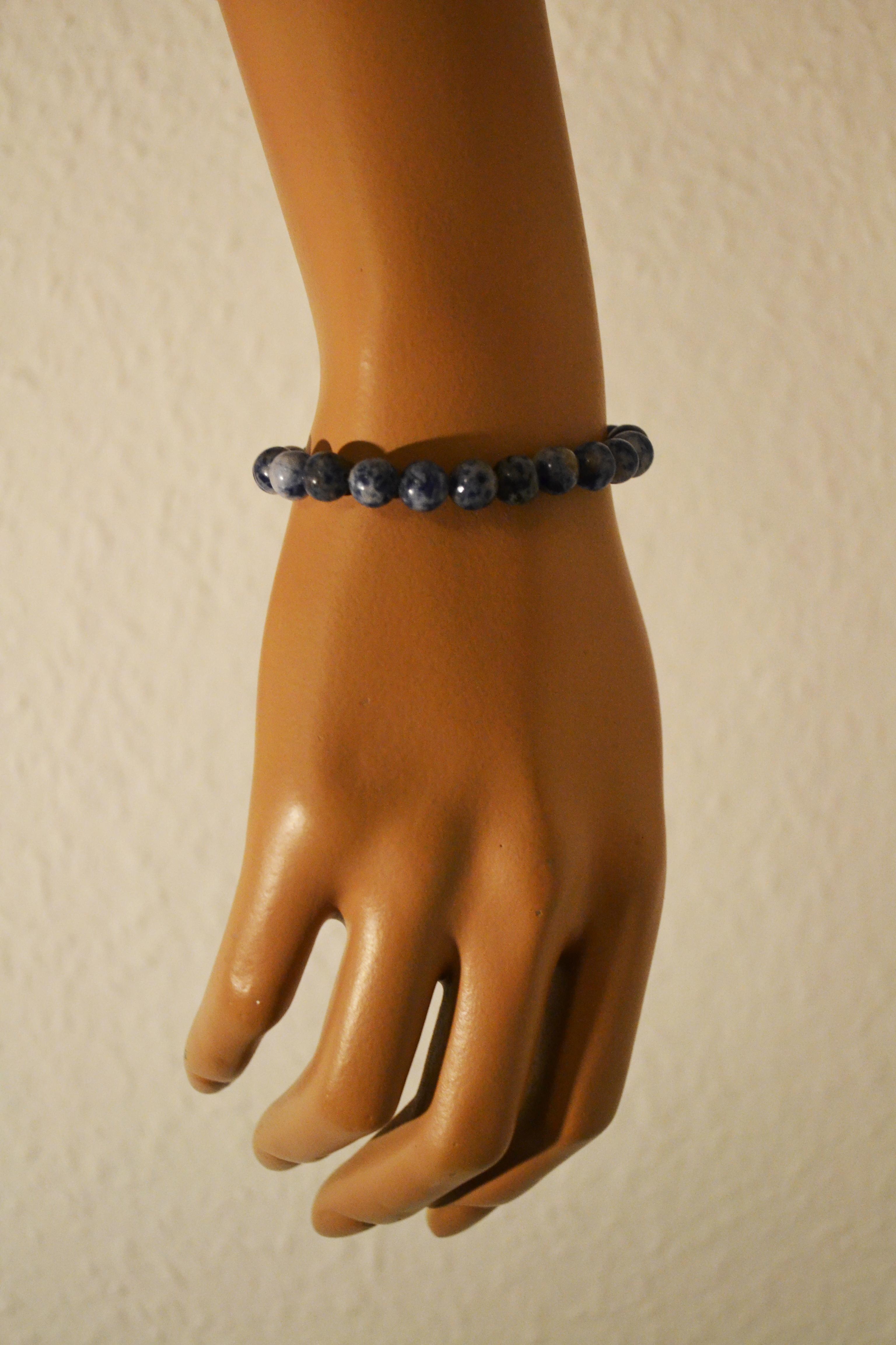 Power Armband blau weiß