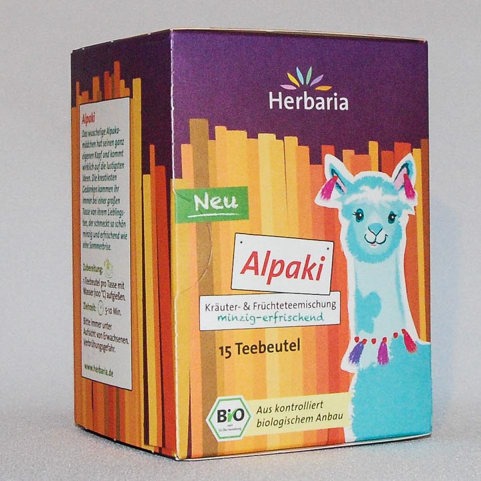 """Tee """"Alpaki"""" - minzig-erfrischend"""