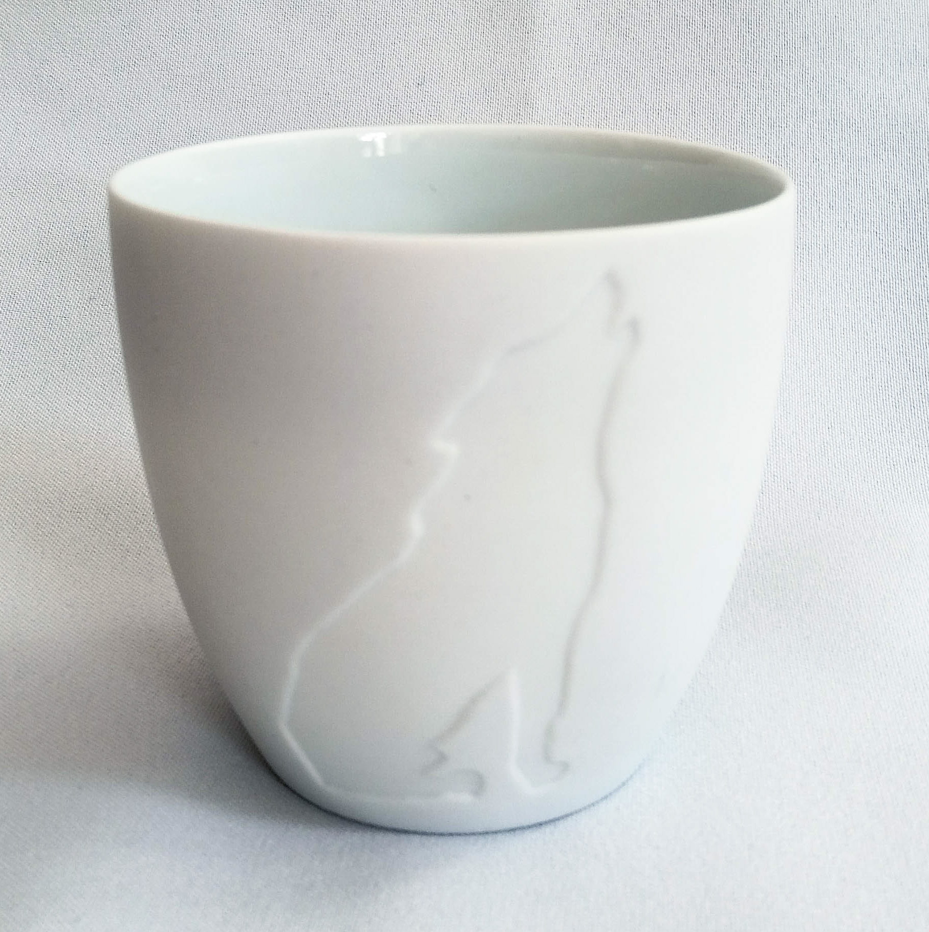 Teelichthalter Wolf