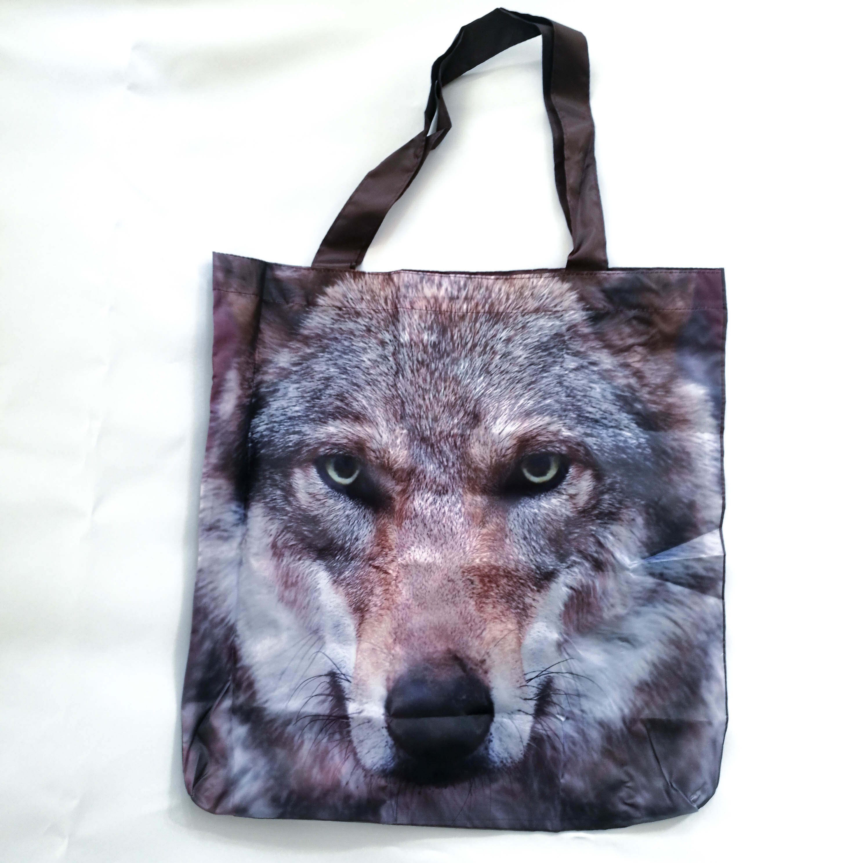 Tierisch kleine Tasche: Wolf