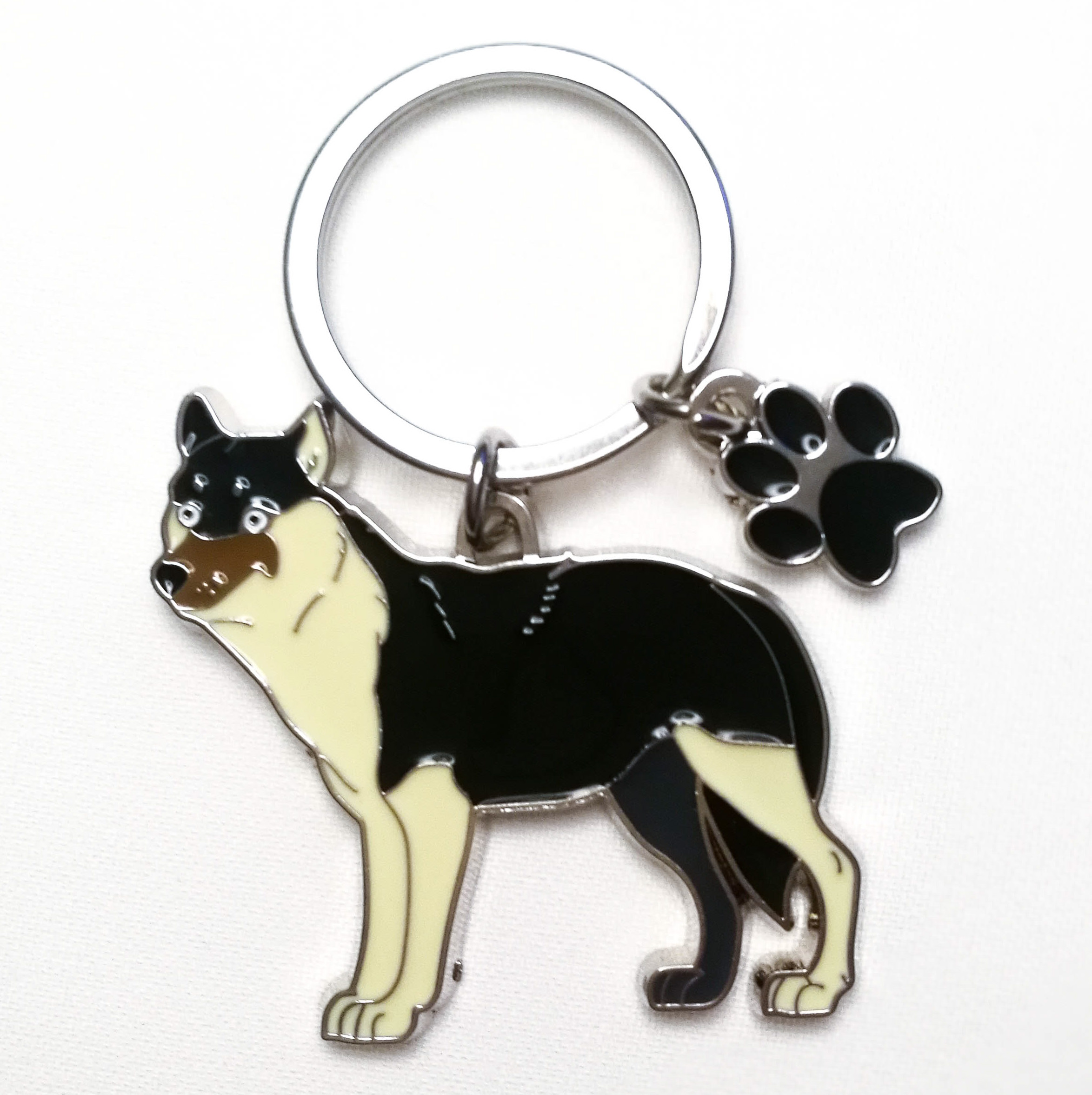 Schlüsselanhänger: Wolf