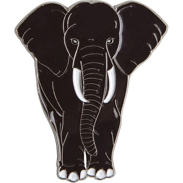 Magnet aus Metall: Elefant