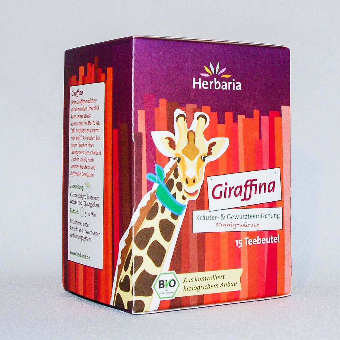 "Tee ""Giraffina"" - sonnig-würzig"